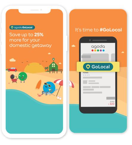 Agoda's 'GoLocal' campaign set to boost domestic travel