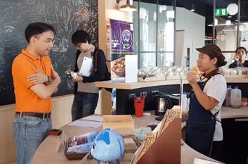 Asia-Pacific Development Center on Disability (APCD) Pop Up Café