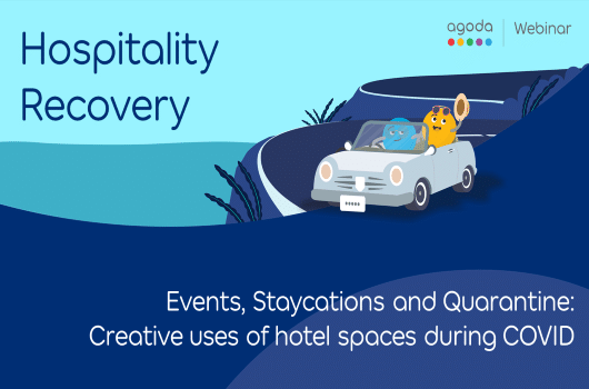 Events, Staycations and Quarantine: Creative uses of hotel spaces during COVID
