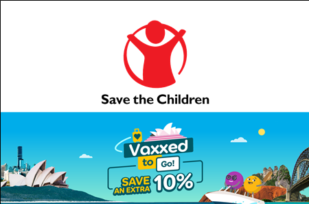 Vaxxed to Go & Save the Children
